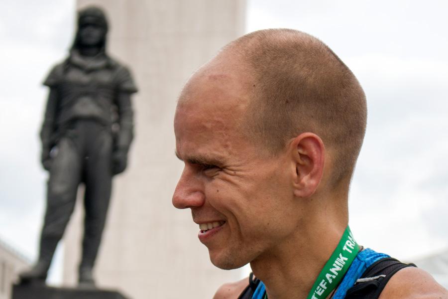 Štefánik Trail 2017-víťaz Richard Zvolánek