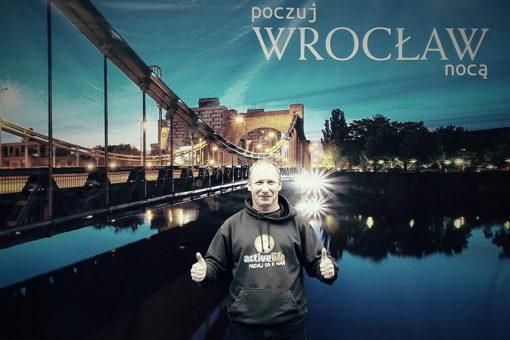 Nočný polmaratón Wroclaw 2017