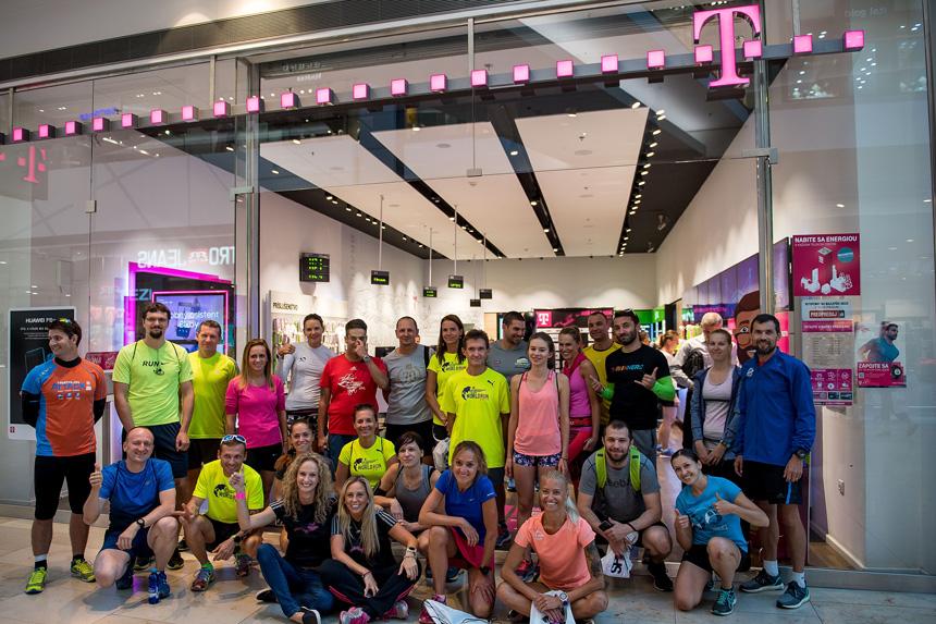 Po tlačovej besede nasledoval posledný spoločný tréning bežcov v rámci prípravy na Telekom Night Run 2017, na ktorom si jeho účastníci otestovali trať pretekov.
