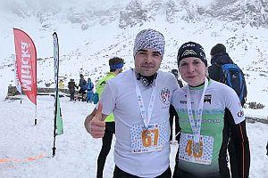 Víťazi 4. kola M. Sovčák a P. Puklová