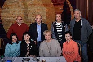 Majcichovská 10 - hostia Kozmonauti V. Remek a I. Bella a ich príbuzní