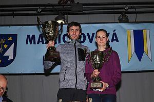 Branislav Šarkan a Veronika Zrastáková, víťazi v absolútnom poradí (bez rozdielu veku)