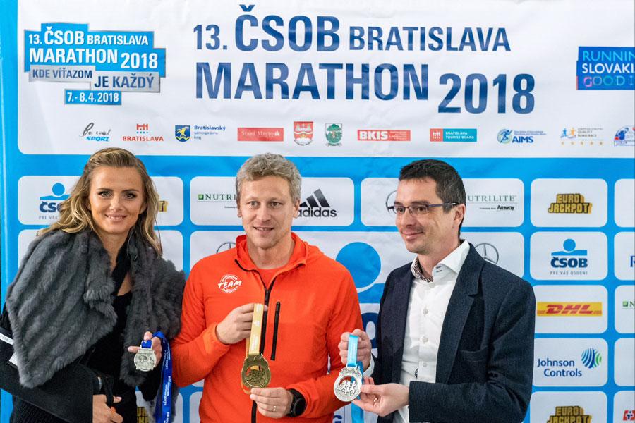Daniela Hantuchová, ambasádorka ČSOB Bratislava Marathon 2018