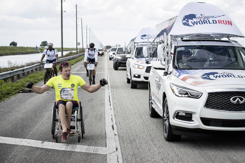 Robert Snow – Wings for Life World Run 2018