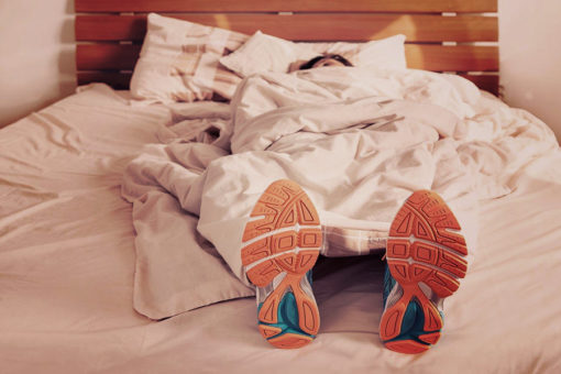Sleeping runner