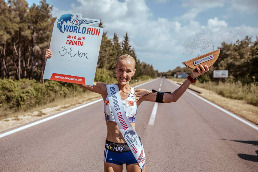 Red Bull Content Pool – Wings for Life World Run 2018 – Martina Burzová