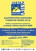 Beh na Zniev 2018 - Majstrovstaa Slovenska