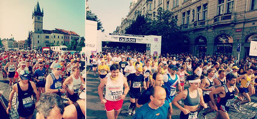 Historie Pražského Maratonu