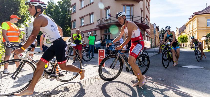 NESS City Triathlon 2019 cyklistika