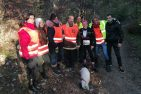 Bathory cross 2019 s dobrovoľníkmi na trati