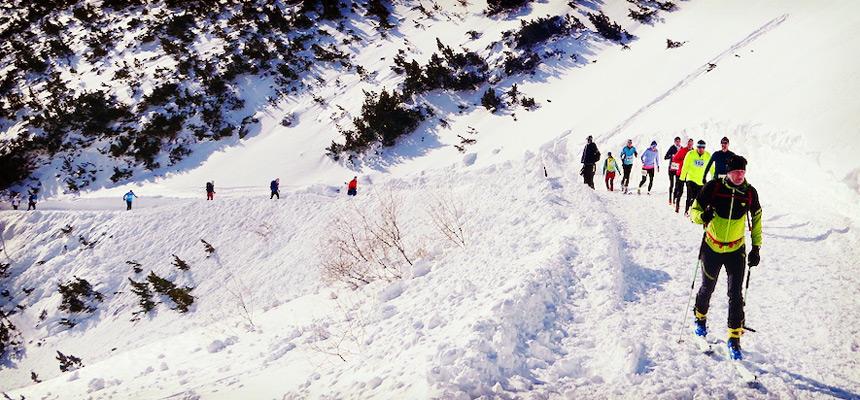 Zimná séria Vysoké Tatry 2020 skialpinisti