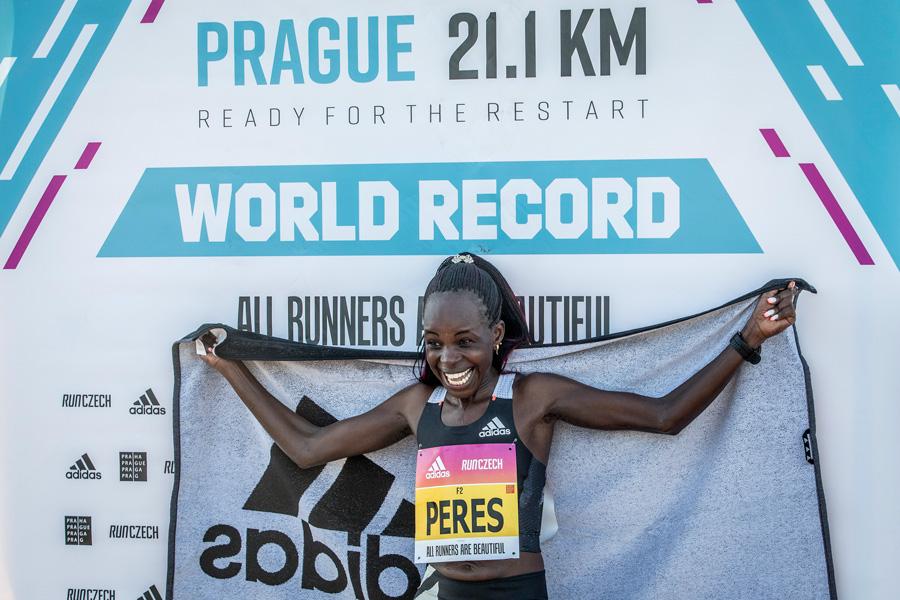 Peres Jepchirchir-World Record