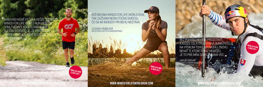 Ambasádori | Wings for Life World Run 2021