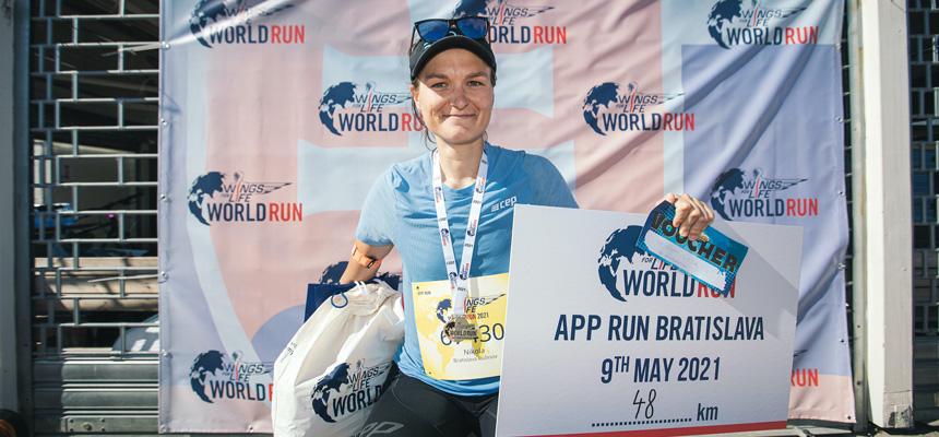 Nikola Čorbová | Wings for Life World Run | Photo| Matúš Zeťák
