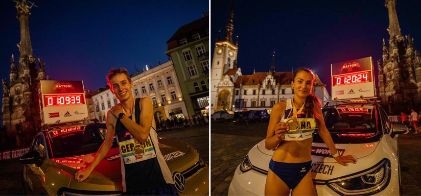 Gerron Stewart & Hana Homolková